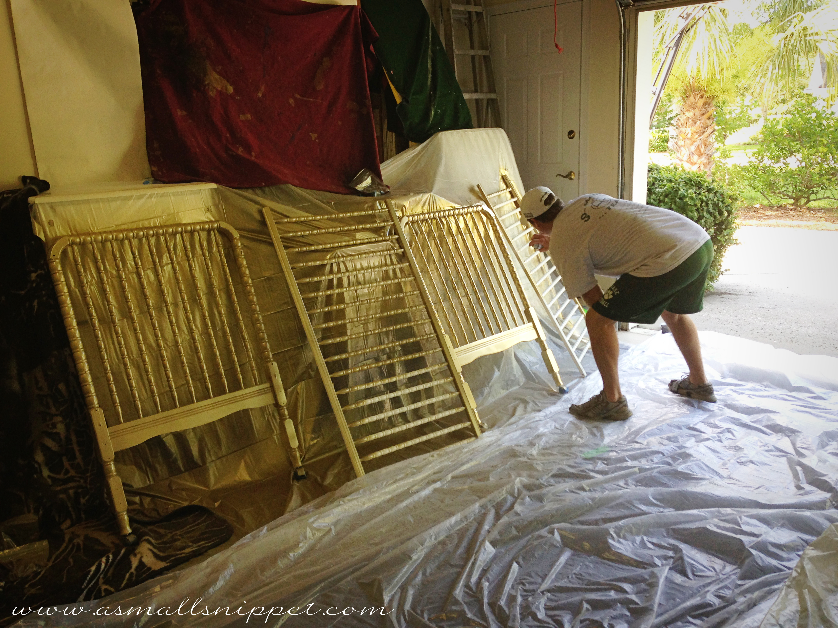 Gold crib for sale - You Have To Make Sure That You Get In Between The Spindles If Your Crib Is Spindly Or Slatted Because The Paint Will Not Reach All The Way To The Inside
