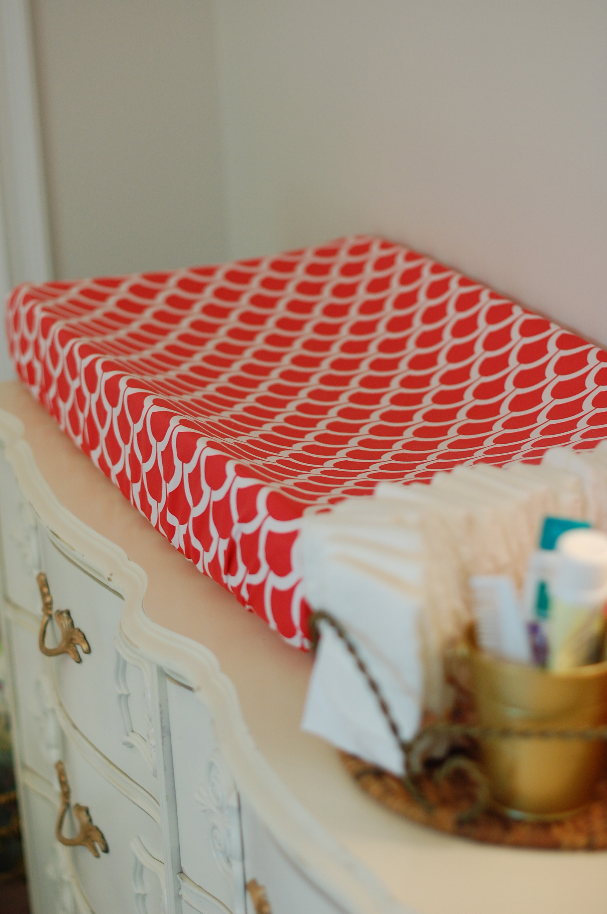 Diy Changing Pad Cover A Small Snippet